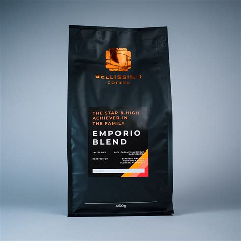 Froth, flavour, or blend an aromatic cup every time. Emporio Coffee Blend - Espresso Blend | Bellissimo Coffee