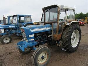 Ford 7000 Tractor With Dual Power  U0026 Load Monitor  V5 Will
