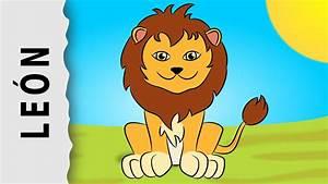 Cómo dibujar un León Dibujo sencillo paso a paso YouTube