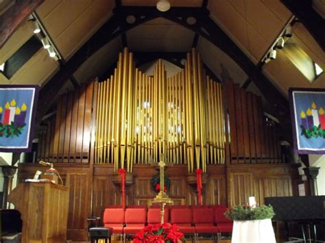First Congregational United Church Of Christ Bosman Pipe