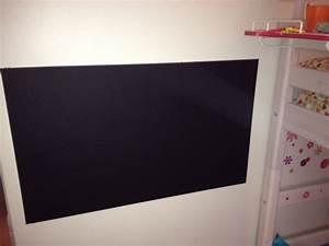 Créer, peindre un tableau ardoise et magnétique pour chambre d'enfant e Zabel, blog maman Paris