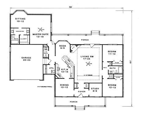 Nadine Farm Country Ranch Home Plan 069d-0083