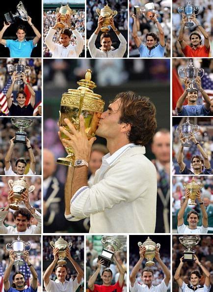 Roger Federers 17 Grand Slam Winning Moments