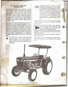 My John Deere 950 Operator U0026 39 S Manual