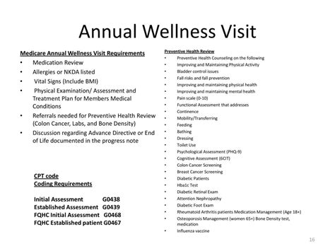 medicare annual wellness visit template risk adjustment hierarchical condition categories hcc coding ppt