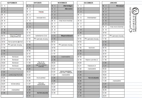 Formaat Kalender 2019 Weeknummers Belgie Newspictures