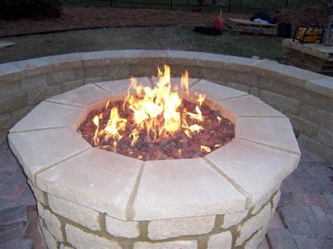 how to build a gas pit how to build outdoor gas pit outdoor decorations