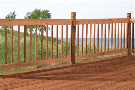 Deck Railing Ideas Home Depot by Deck Materials Buying Guide Garden Club