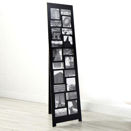 floor standing picture frame collage decor design