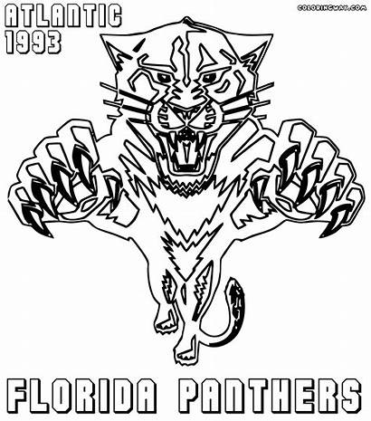 Nhl Coloring Logos Pages Coloringway