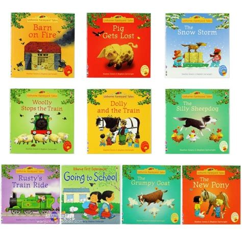 farm stories for preschoolers 15pcs set 15x15cm best picture books for children and baby 29597
