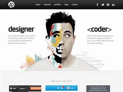 Portfolio Website Adham Javascript Designer Example Developer