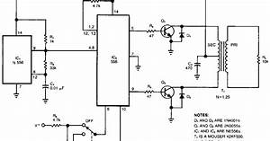Build A High Voltage Inverter Circuit Diagram