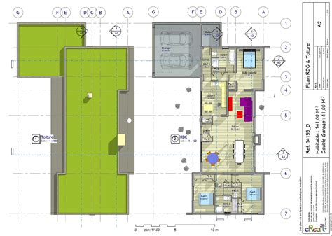 plan maison en l 4 chambres excellent plan maison plain pied plan d maison plain pied