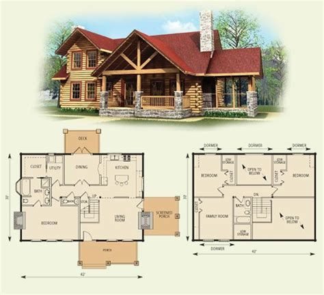 inspiring log cabin house plans with basement photo i ll take this with a basement and a detached 2 car garage