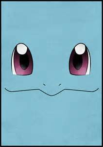 Pokemon Squirtle Face