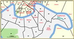 Map Of Gretna