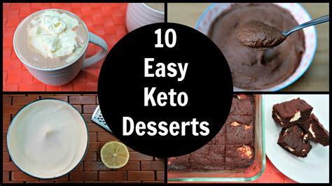 10 easy keto desserts simple ketogenic dessert recipes