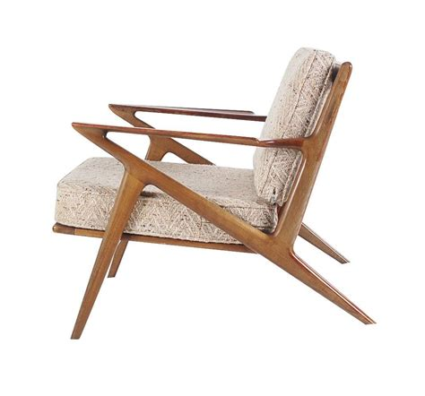 selig walnut lounge chair sculptural walnut lounge chair by poul for selig