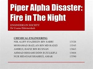 Fish Bone Diagram  U0026 6 Sigma For Piper Alpha Accident