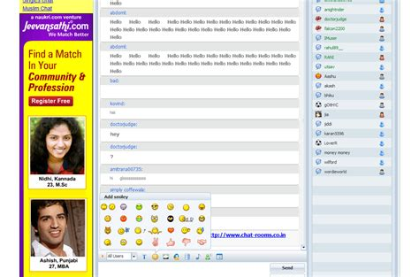 Indian Live Chat Room : Online Chatting With Friends In India