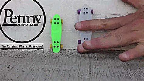 tech deck penny boards youtube