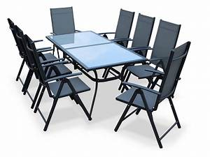 Table De Jardin Solde : table de jardin en aluminium naevia de leroy merlin meuble et d coration marseille mobilier ~ Teatrodelosmanantiales.com Idées de Décoration