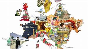 This Children's Literature Map Shows the Best Kids' Books ...