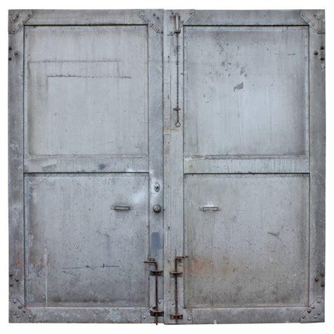 industrial steel doors antique metal industrial doors at 1stdibs