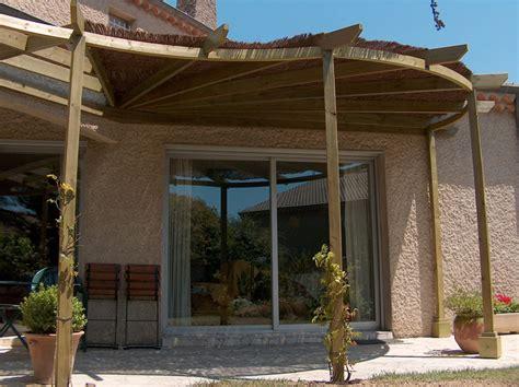 pergola bois couverte pergola bois adoss 233 e couverte maison et pergola