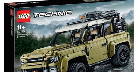 lego technics  land rover defender kit
