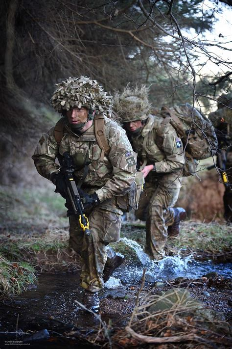 royal regiment  scotland soldiers  training exercise