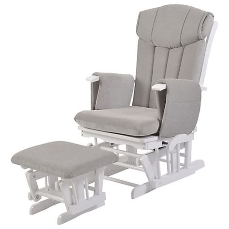 buy kub chatsworth glider nursing chair and foot stool
