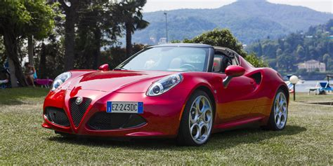 Alfa Romeo Spider Review by Alfa Romeo 4c Spider Review Photos Caradvice