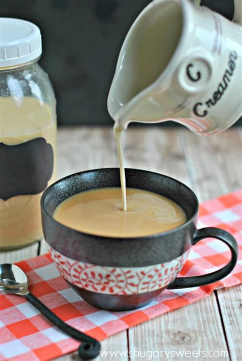 All you need is really just a few simple ingredients for and creamy coffee treat. Easy homemade Creme Brulee Coffee Creamer recipe