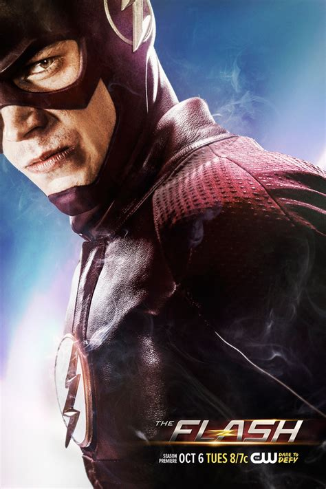 flash season  premiere   trailer  poster