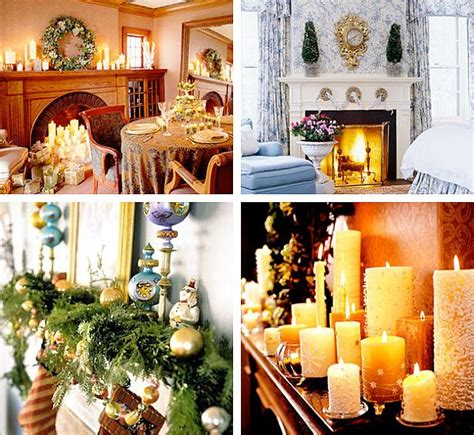 christmas fireplace mantel decoration ideas