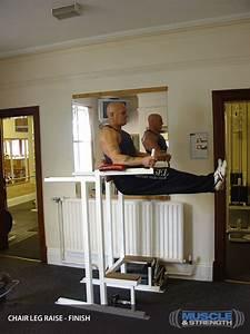Chair Leg Raise  Video Exercise Guide  U0026 Tips