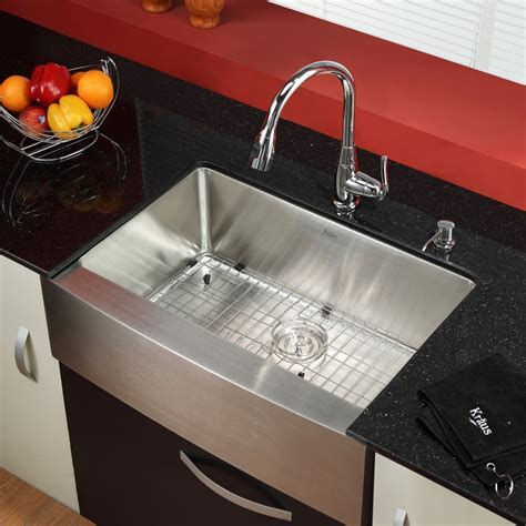 Kraus KPF2230KSD30CH Single Lever Pull Out Kitchen Faucet