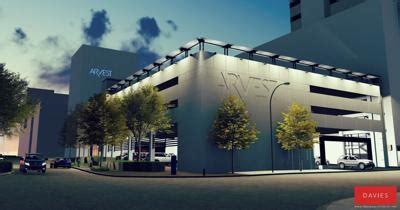 arvest bank  build downtown parking garage work