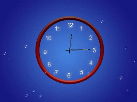abstract clock wallpaper 1 0 0 screenshots
