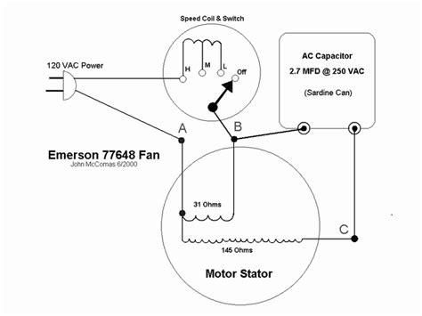 Hunter Ceiling Fan Capacitor Location by Wiring Diagram 1914 Ge Collar Oscillator Pre 1950