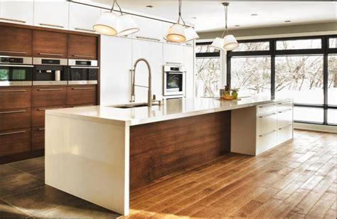 cuisine moderne en bois cuisine bois cuisine moderne bois blanc