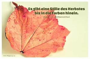 Die Farben Des Herbstes : mein papa sagt es gibt eine stille des herbstes bis in ~ Lizthompson.info Haus und Dekorationen