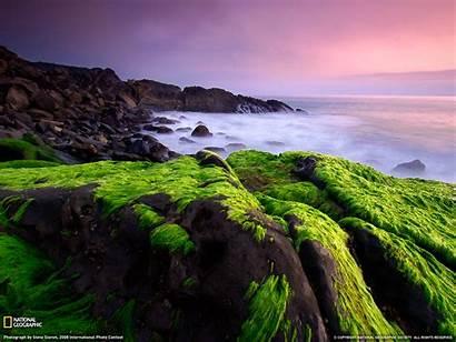 Geographic National Magazine Monica Santa Usa Shore
