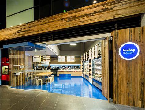 bluebag restaurant  zwei interiors architecture melbourne