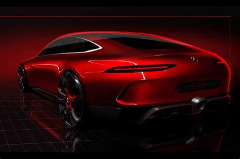 2017 Geneva Mercedes Benz Amg Gt Concept Hd Cars 4k