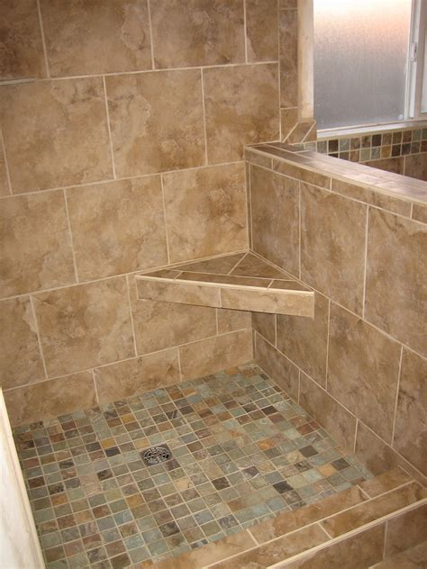 tile showers with seats showers and tub surrounds rk tile and stone remodeling specialist