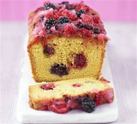summer fruit drizzle cake bbc good food