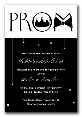 mod prom graduation announcements  invitation